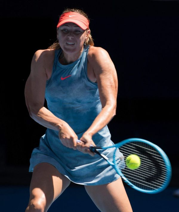 Maria Sharapova Australian Open 01142019