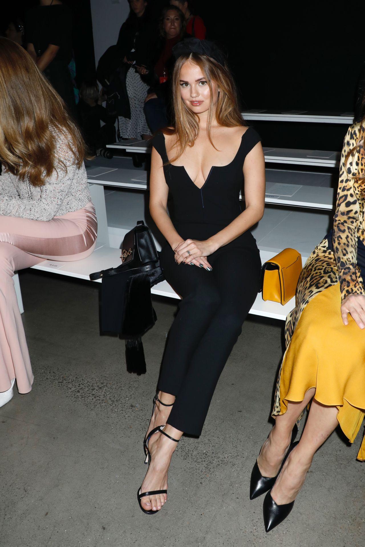 Debby Ryan Cushnie Fashion Show At New York Fashion Week