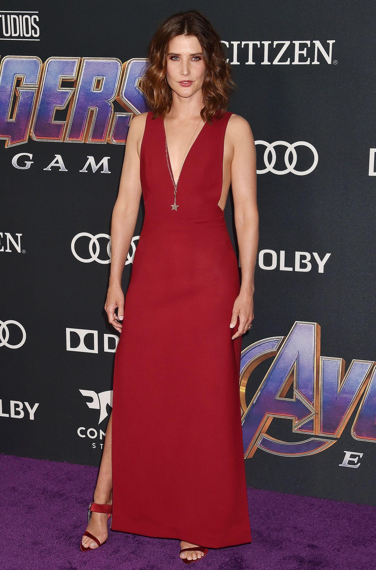 Cobie Smulders Avengers Endgame Premiere In La