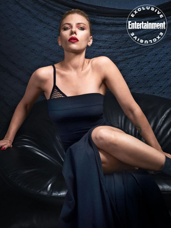 Scarlett Johansson - Entertainment Weekly March 2020