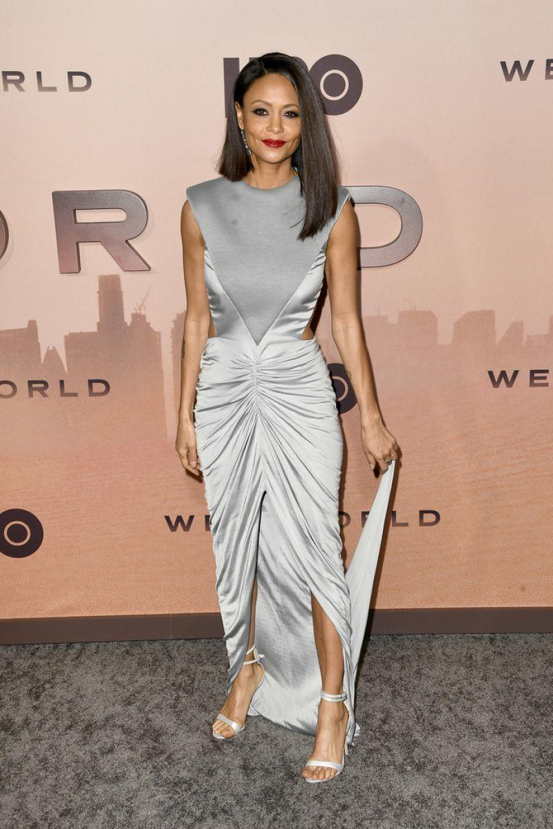 Haar moeder is zimbabwaans, haar vader engels. Thandie Newton Westworld Season 3 Premiere In Hollywood Celebmafia