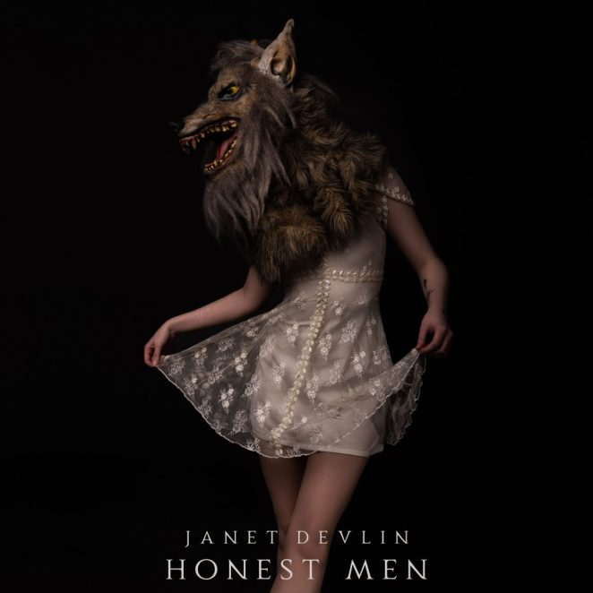 The single artwork Janet Devlin's new single Honest Men.