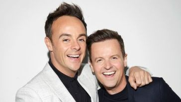 Ant and Dec celebrate their 30 years on telly