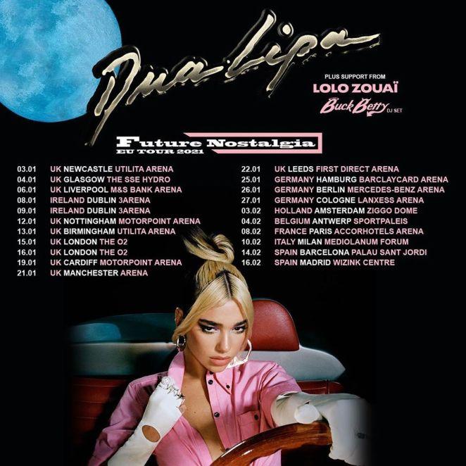 Future Nostalgia Tour