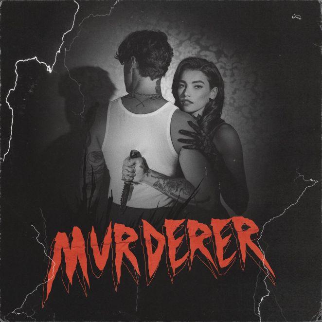 """ARI - """"Murderer"""" single artwork"""