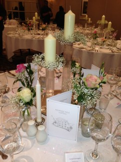 Glamorous wedding at Hendon Hall