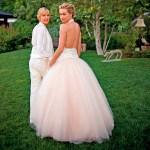 celebrity-pink-wedding-dresses-portia-derossi-gettyimages-82518542-0815_horiz
