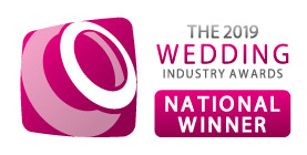The 2019 Wedding Industry Awards National Winner Logo