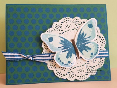 Created by Ginny Harrell #Watercolor Wings #Stampin' Up! Retiring Products