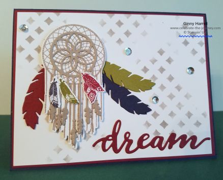 follow your dreams stampin' up ginny harrell
