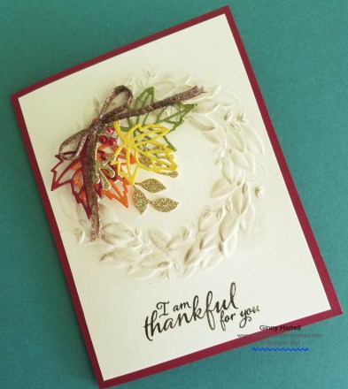 Blended Seasons Ginny Harrell Stampin' Up