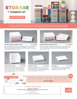 your space your way stampin up