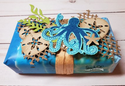 sea of textures stampin' up ginny harrell