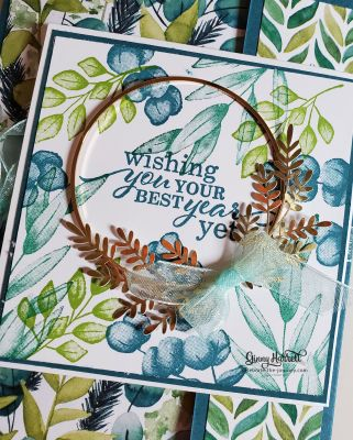 forever fern stampin' up ginny harrell
