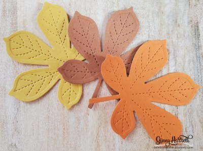 Love of Leaves Stampin' Up Ginny Harrell