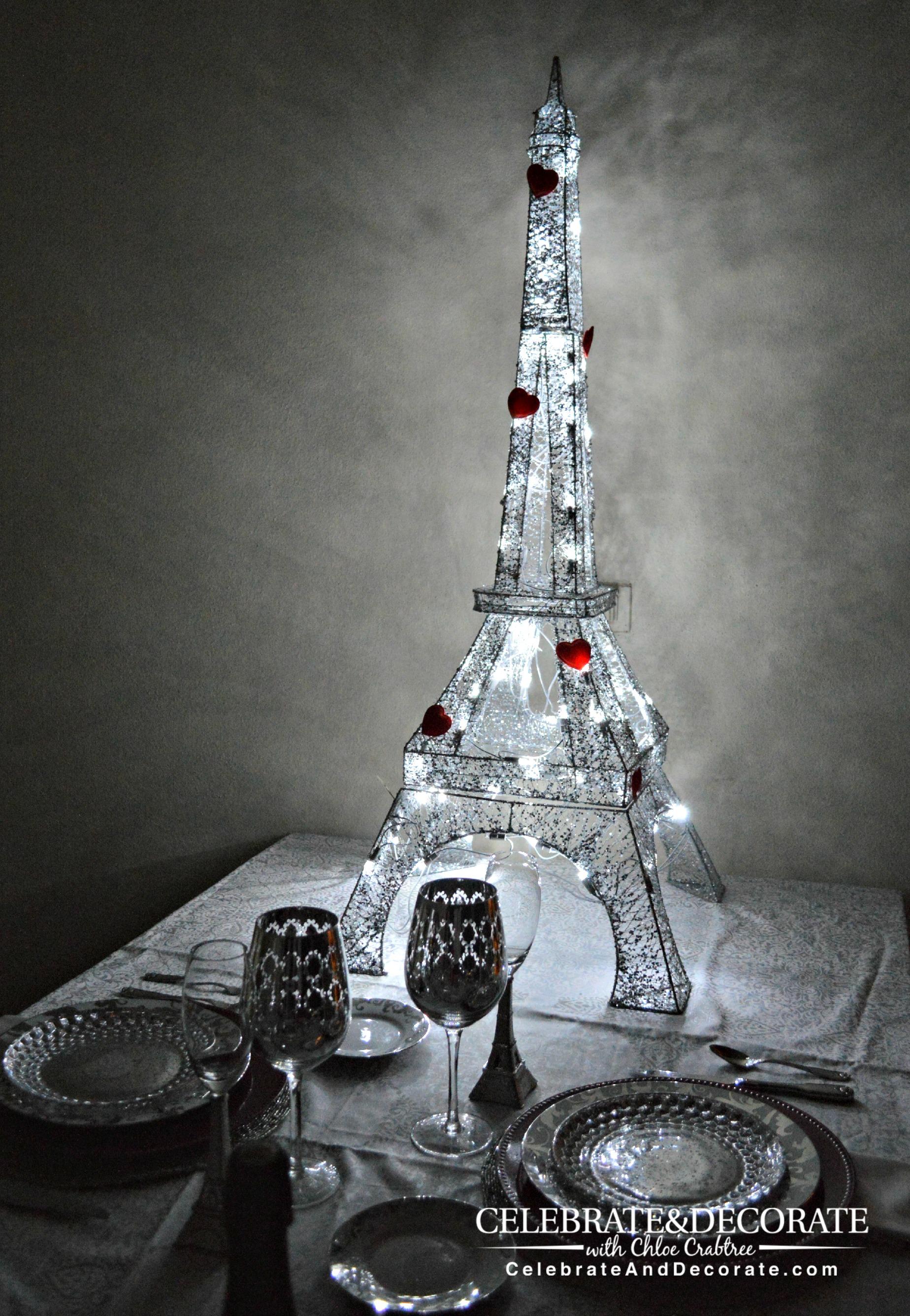A Paris Themed Valentines Dinner Celebrate Amp Decorate