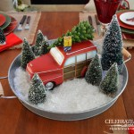 A Rustic Christmas Tablescape Celebrate Decorate
