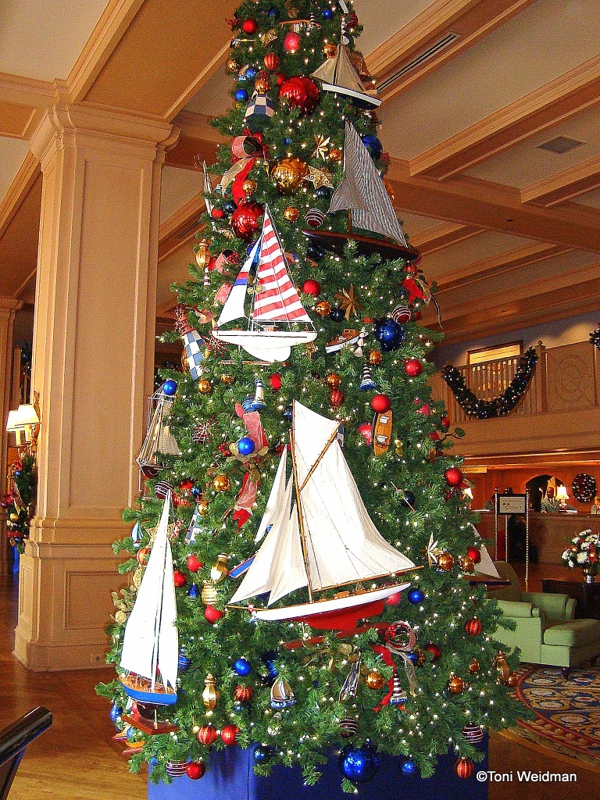Beautiful Christmas Trees And A Link Party Celebrate