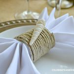 Diy Coastal Napkin Rings Celebrate Decorate