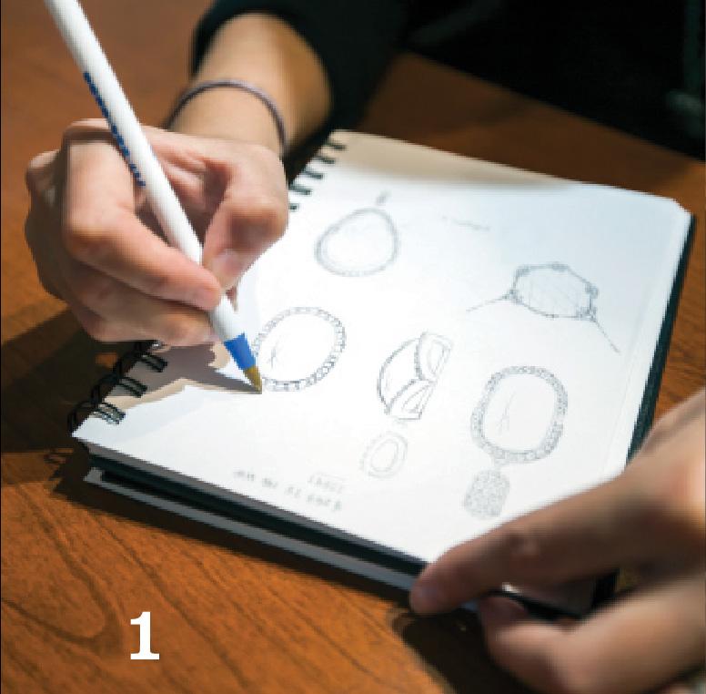 Step 1 - sketching