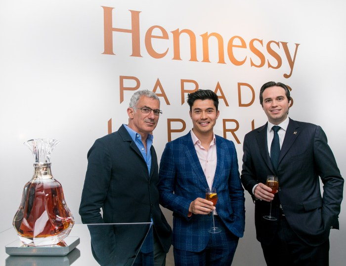Artist Arik Levy, actor Henry Golding & 8th Generation Family Member Roch Hennessy