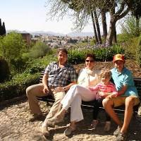 Exploring Alhambra on a family journey across Spain