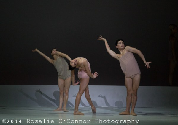 "[Boston Ballet dancers performing in Wayne McGregor's ""Chroma"", ©RosalieO'Connor]"