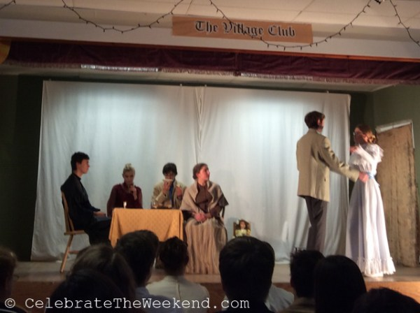 "Scene from ""The Bride"", based on a short story by Chekhov."