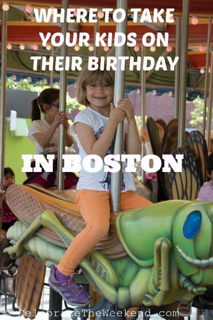 Where to take your kids on their birthday in Boston