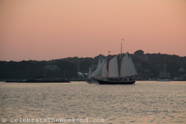 Family Sail in Newport Harbor, RI