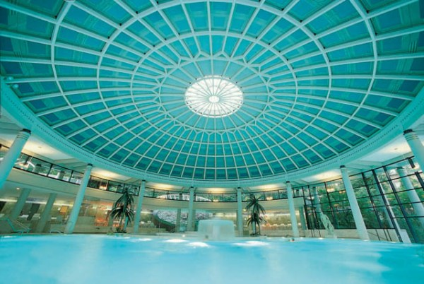 Part 1 of Baden-Baden Weekend: Family Spa and Relaxation. Spa, culture and nature.