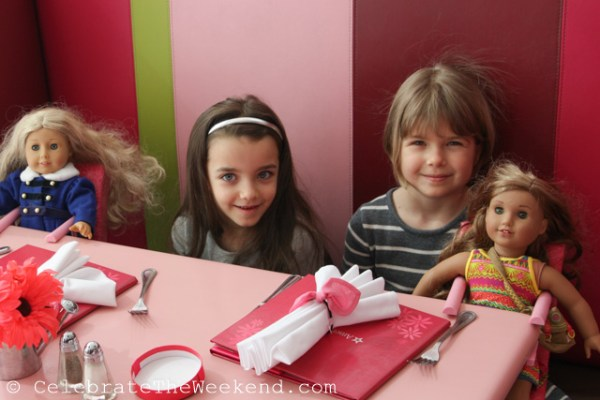 Mothers and daughters celebrate March 8 Holiday at American Girl Bistro in Natick, MA