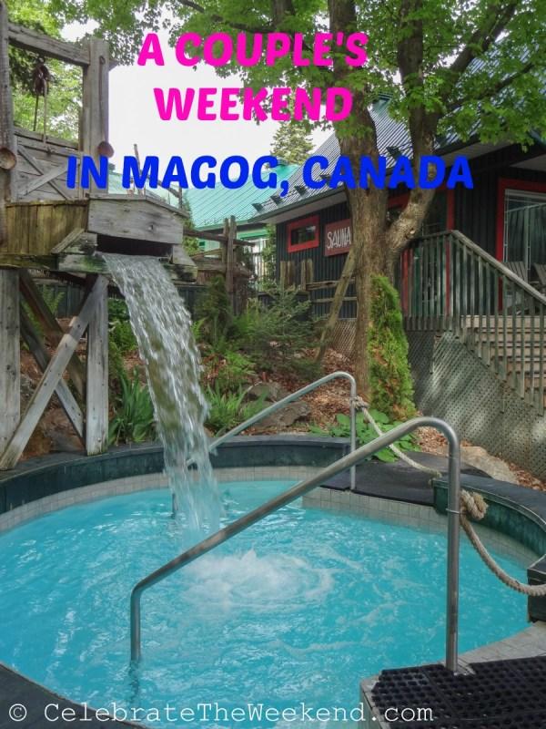 A couple's weekend escape to Magog, Canada
