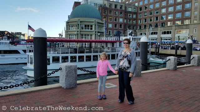 An evening in Boston Harbor