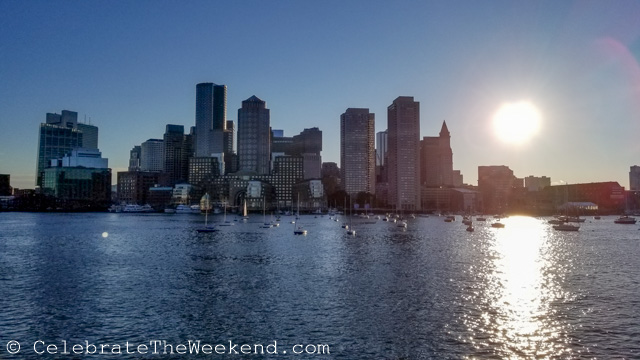 Evening in Boston Harbor