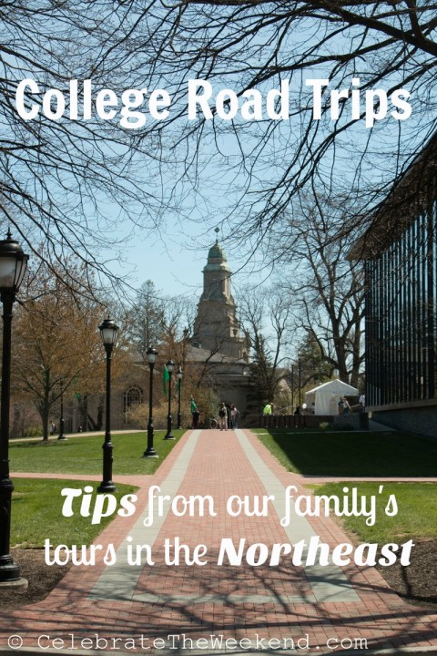 COLLEGE Touring Tips from one family experience in the American Northeast