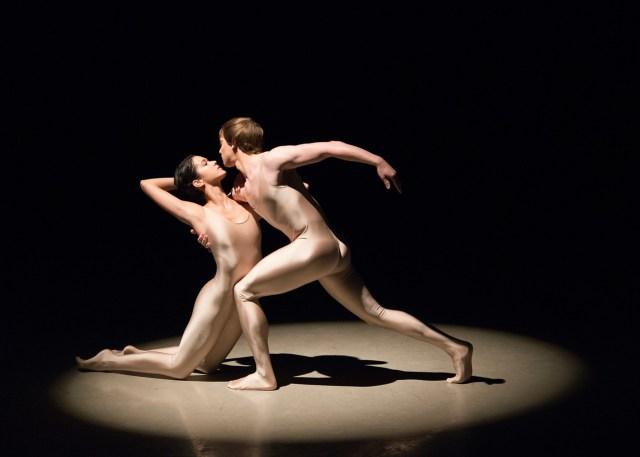 Isaac Akiba and Brittany Stone n Yakobson's Rodin; Photo by Igor Burlak's Photography; Courtesy of Boston Ballet.