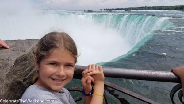 Family Weekend in Niagara Falls Ontario