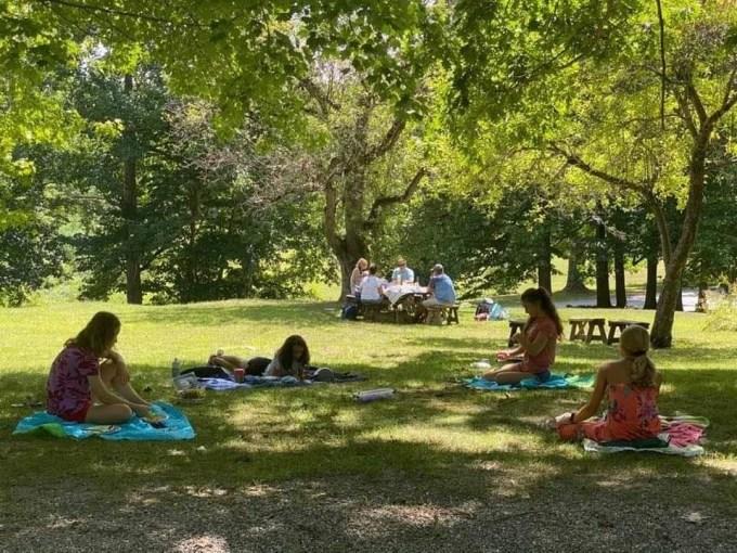 picnics in the Berkshires
