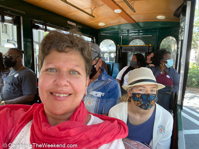 Old Town Trolley Tour (mask mandated in February 2021- check before you go)