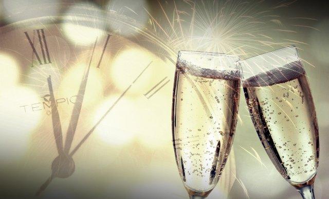 chanpagne toast
