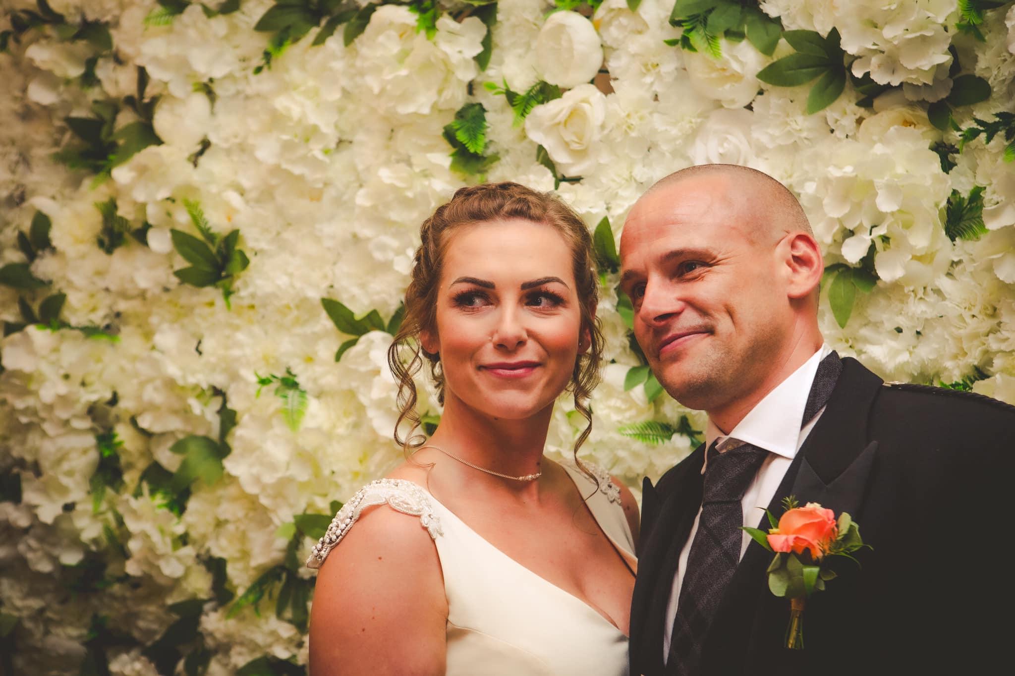Celebrant-led Wedding Ceremony: wonderful couple finally wed!