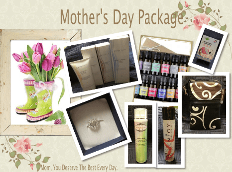 Mother's Day prize package