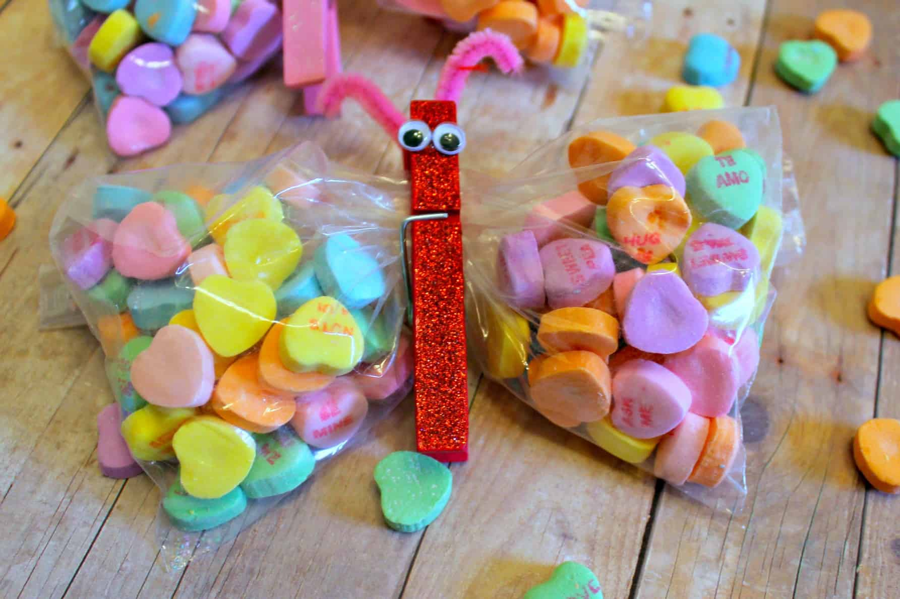 Candy Butterfly Craft Tutorial Teachers Would Love It Heartthis