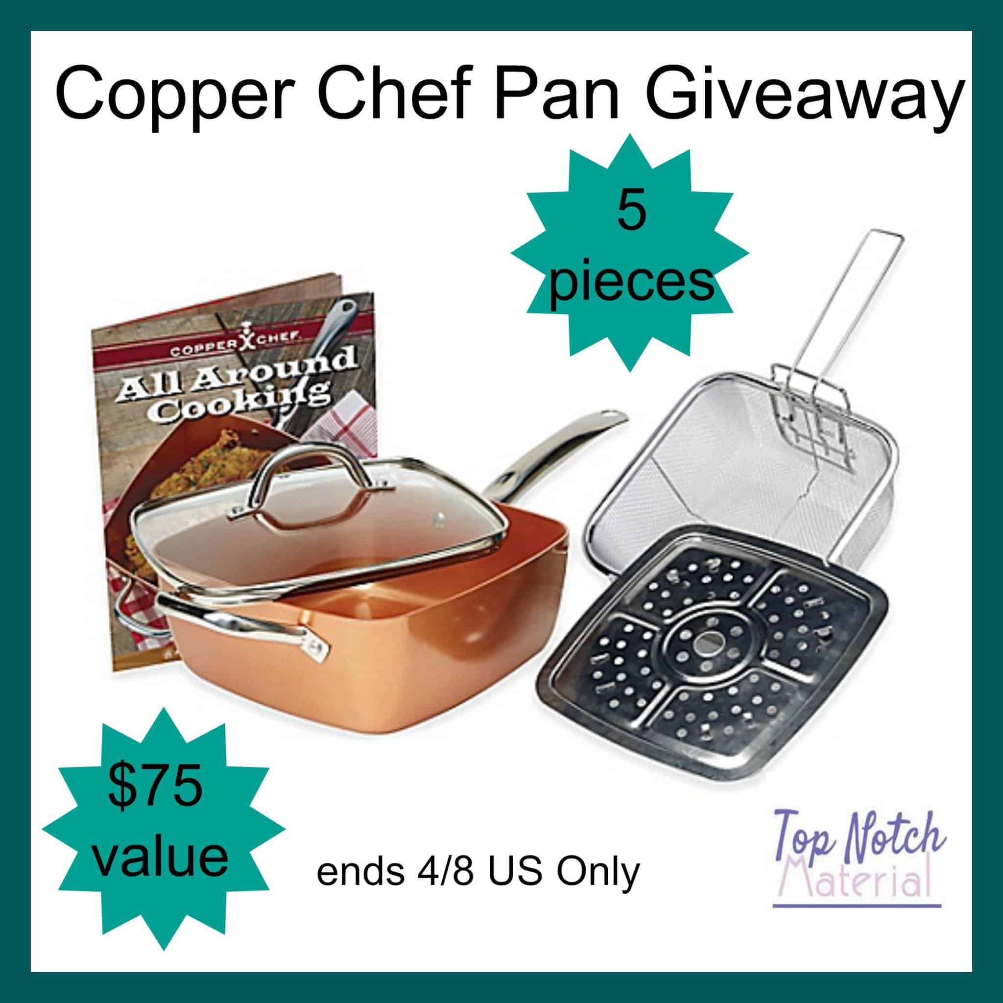 Help Yourself With Copper Chef Pan Set In The Kitchen