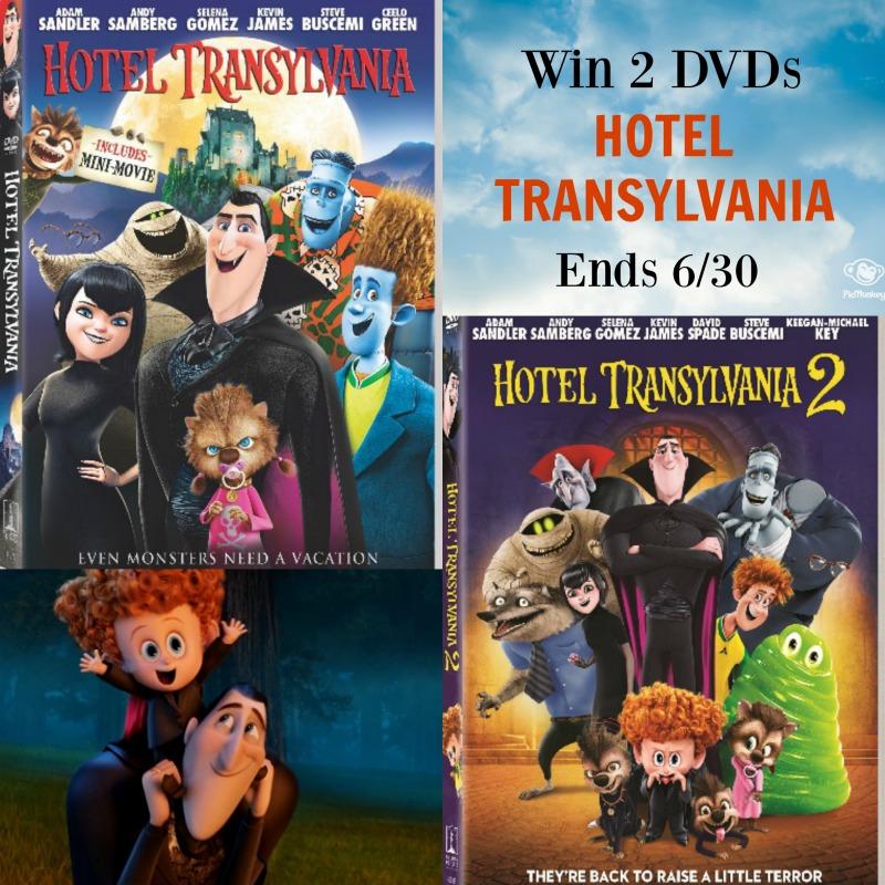 Hotel Transylvania DVD 2 Giveaway