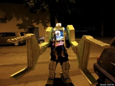 Father Daughter Power Loader Halloween Costume