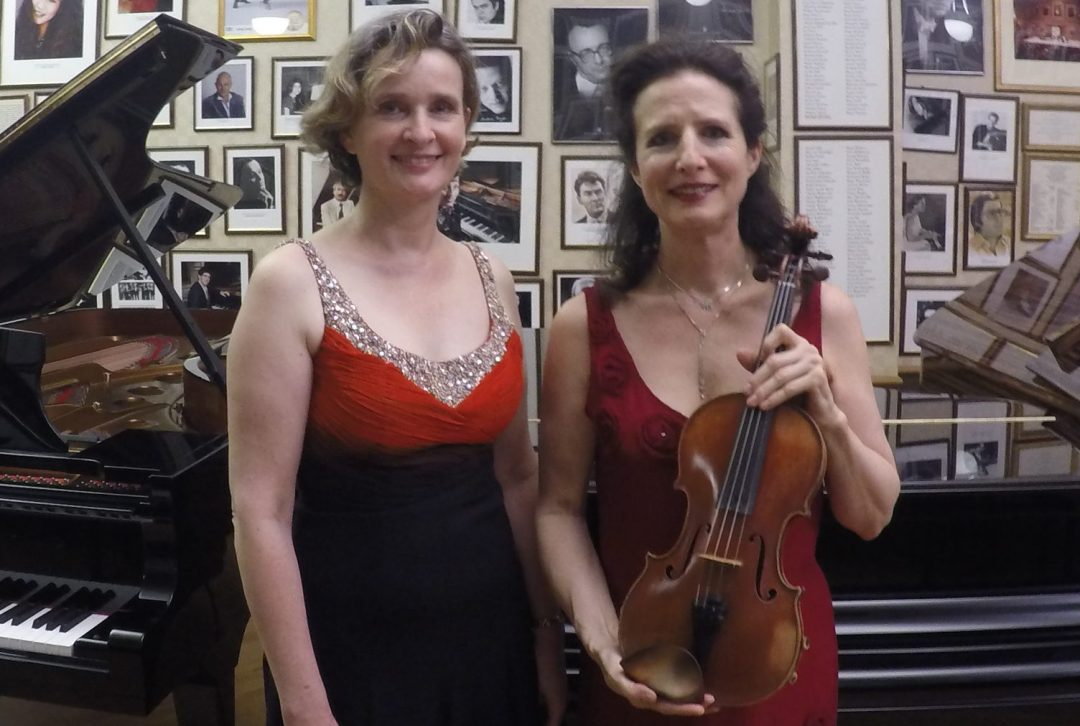 Wendy Hiscocks and Madeleine Mitchell