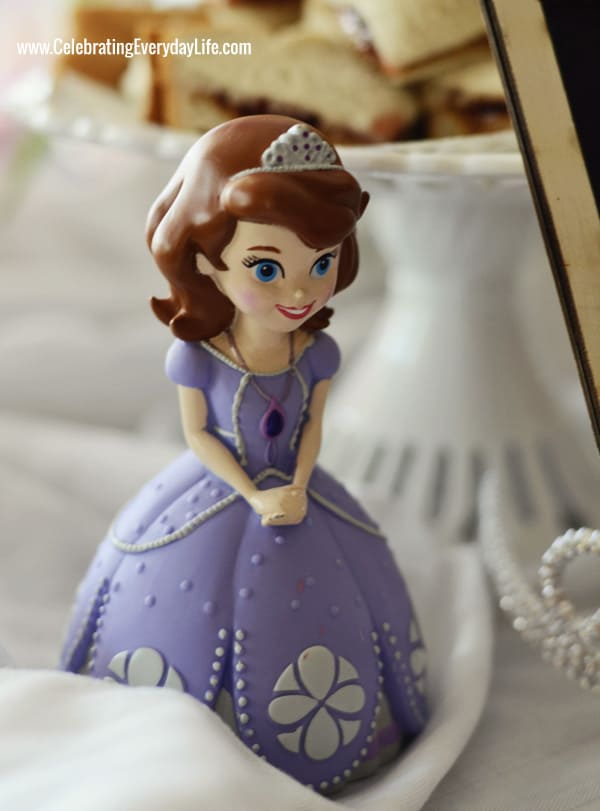 A Sofia The First Themed Birthday Party