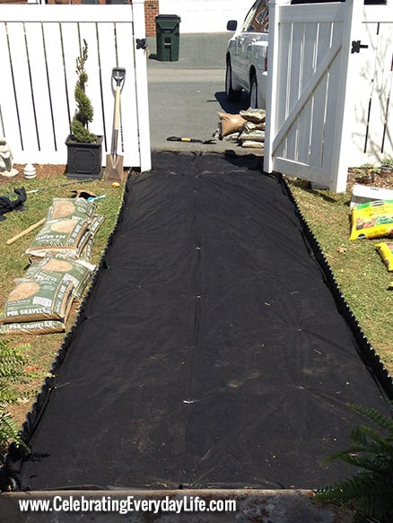 Pea Rock Walkway Plank On : Have the best yard on block with a diy pea gravel path